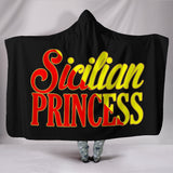 Sicilian Princess Hooded Blanket