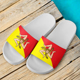 Sicilian Flag White - Men's Slide Sandal