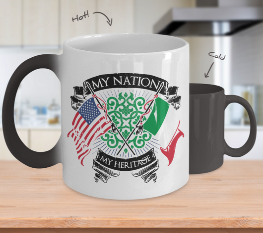 My Nation Italian Color Changing Mug