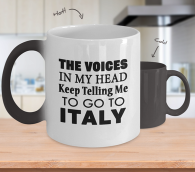 The Voices Color Changing Mug