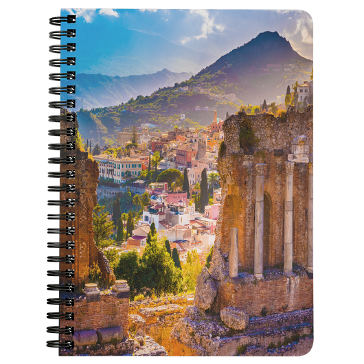 Sicily Spiral Bound Notebook