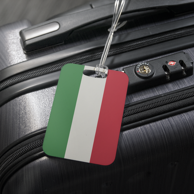 Italy Flag Luggage Tag
