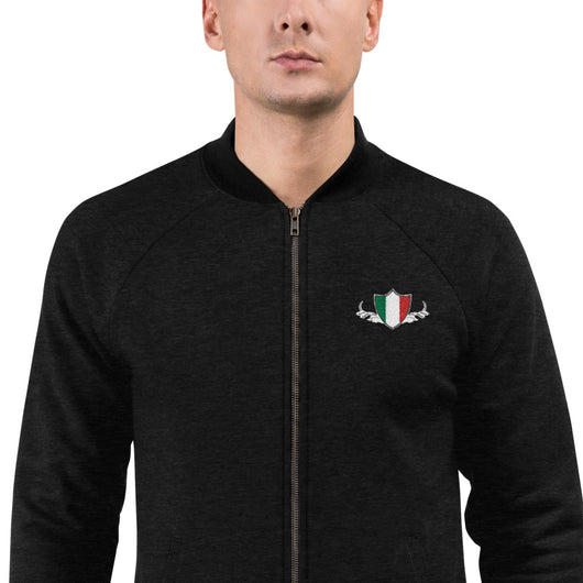 Italy Flag Bomber Jacket