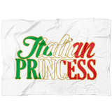 Italian Princess Fleece  Blanket