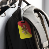 Sicilian Flag Luggage Tag