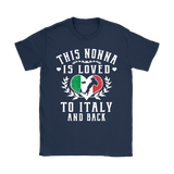 This Nonna is Loved to Italy and Back Shirt