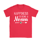 Happiness is Being a Nonna Shirt