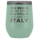 The Voices Wine Tumbler 12oz