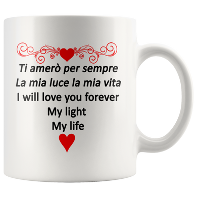 I Will Love You Forever 11oz & 15oz Mug