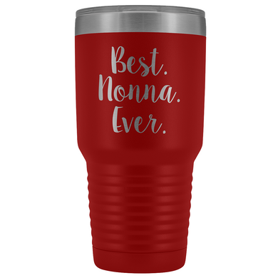 Best Nonna Ever Tumbler - Large 30 oz.