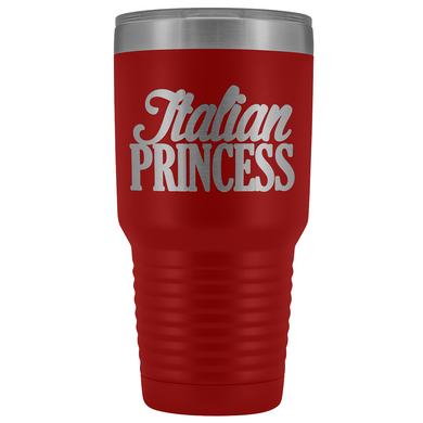 Italian Princess Tumbler - Large 30 oz.