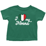 I Love My Nonna Toddler Shirt
