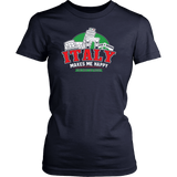 Italy Makes Me Happy Shirt