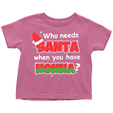 Santa Nonna Toddler Shirt