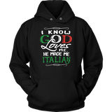 God Made Me Italian Shirt