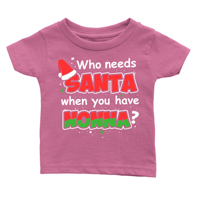 Santa Nonna Infant Shirt