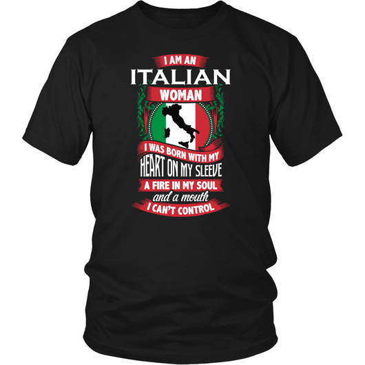 Italian Woman Shirt P S I Love Italy