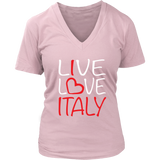 Copy of Live Love Italy Shirt - Women's District V-neck