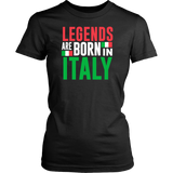 Legends are Born In Italy Shirt