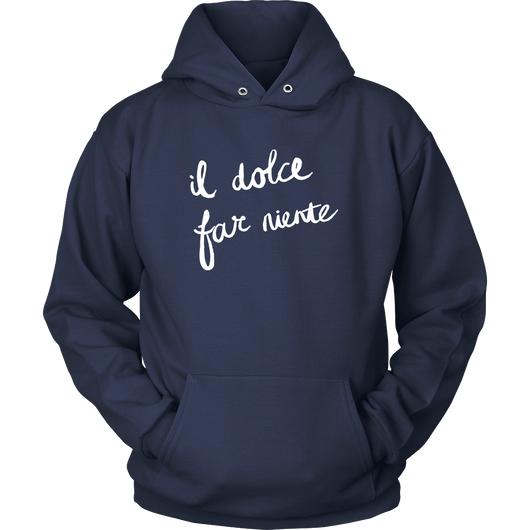 Sweetness of Doing Nothing Hoodie