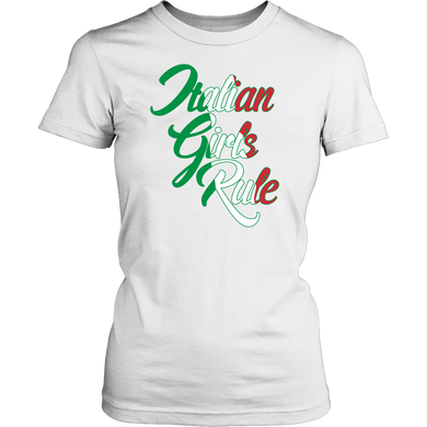 Italian Girls Rule Shirt