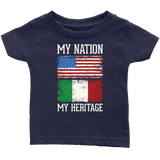 Italian My Nation Infant Shirt
