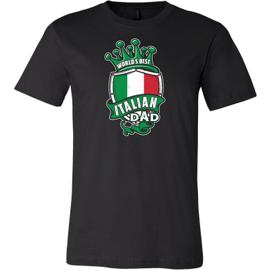 World's Best Italian Dad Shirt