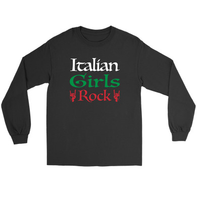 Italian Girls Rock I Shirt