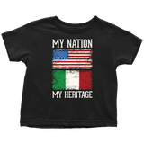 Italian My Nation Toddler Shirt