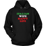 Italian Wife Happy Life Shirt