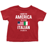 Made in America with Italian Parts Toddler Shirt
