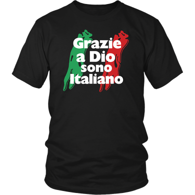 Thank God I'm Italian Shirt