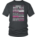 Nonna's House Rules Shirt