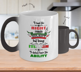 I Had the Right to Remain Silent I Color Changing Mug