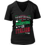 Marrying an Italian Shirt