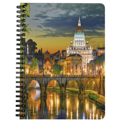 Rome Spiral Bound Notebook