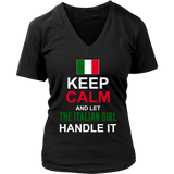 Let The Italian Girl Handle It Shirt