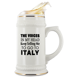 The Voices 22oz Beer Stein
