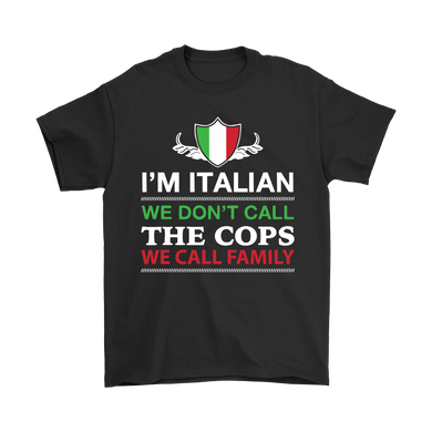 Italian Call Family Shirt