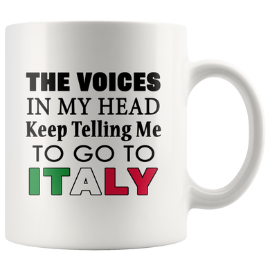 Voices in My Head 11oz Mug
