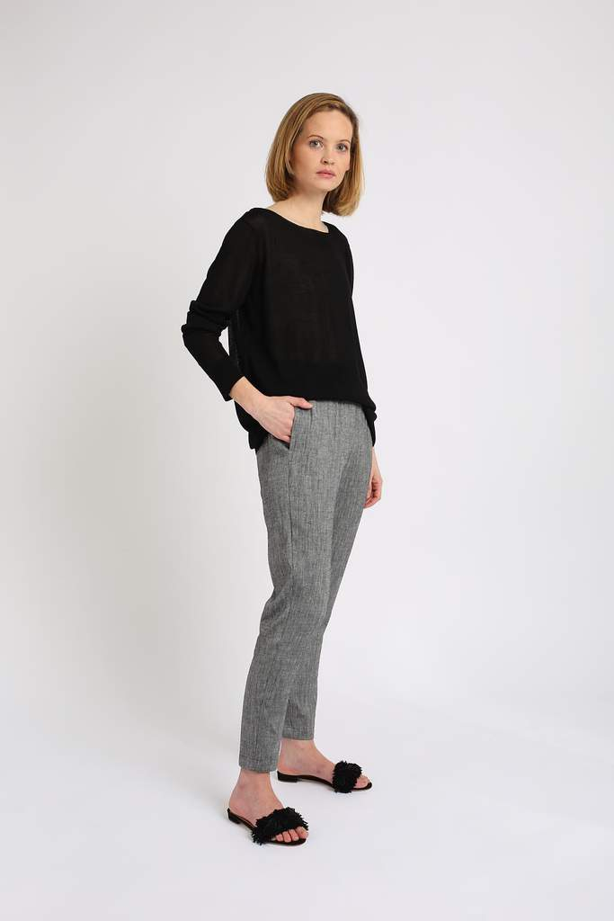 Relaxed Linen Pant - indosso