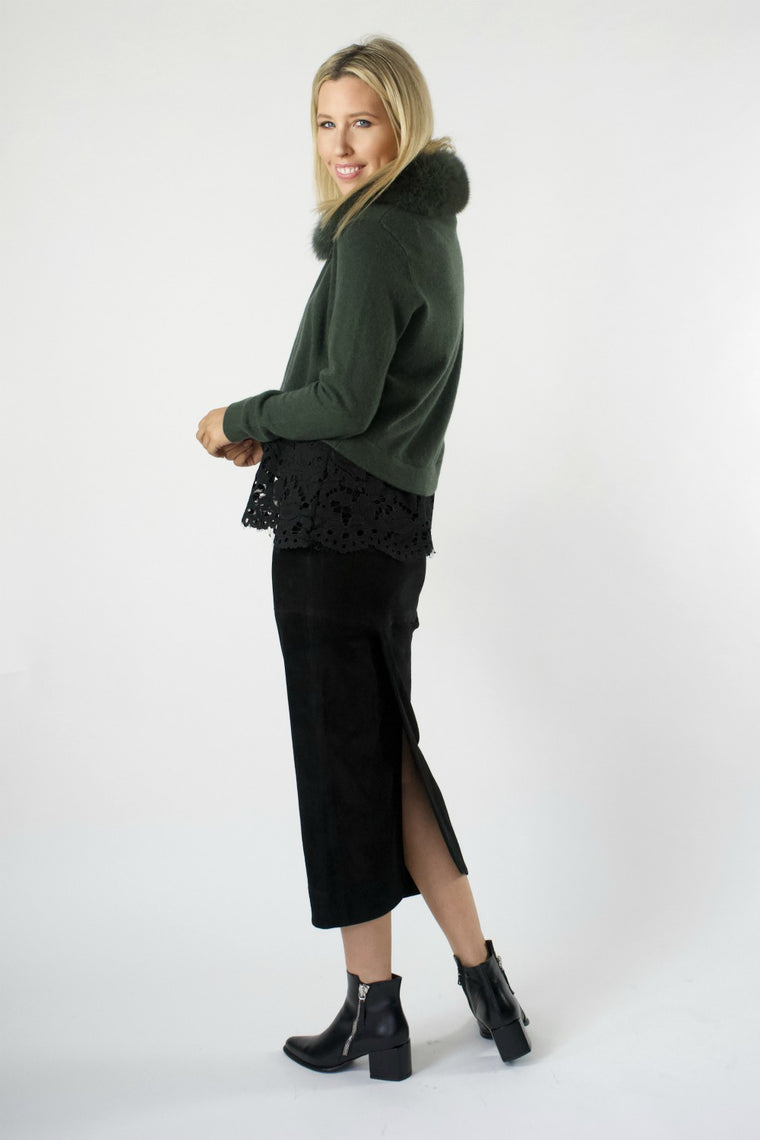 Long Pull On Skirt - indosso