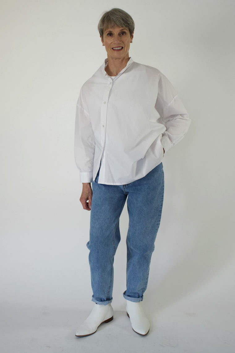 Asymmetric Shirt - indosso