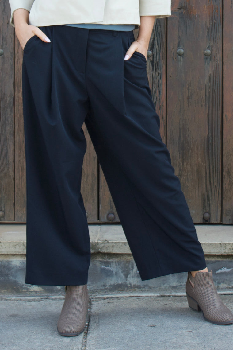 Pleated Trouser - indosso