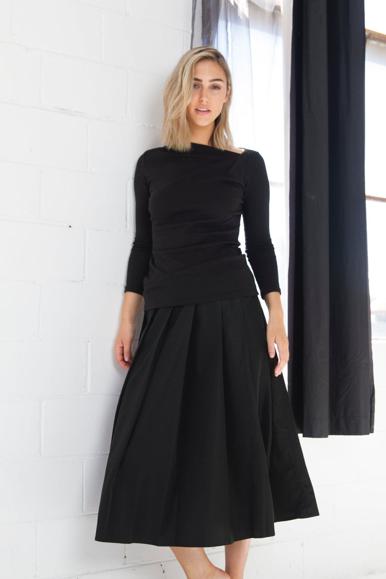 Pleated Skirt - indosso