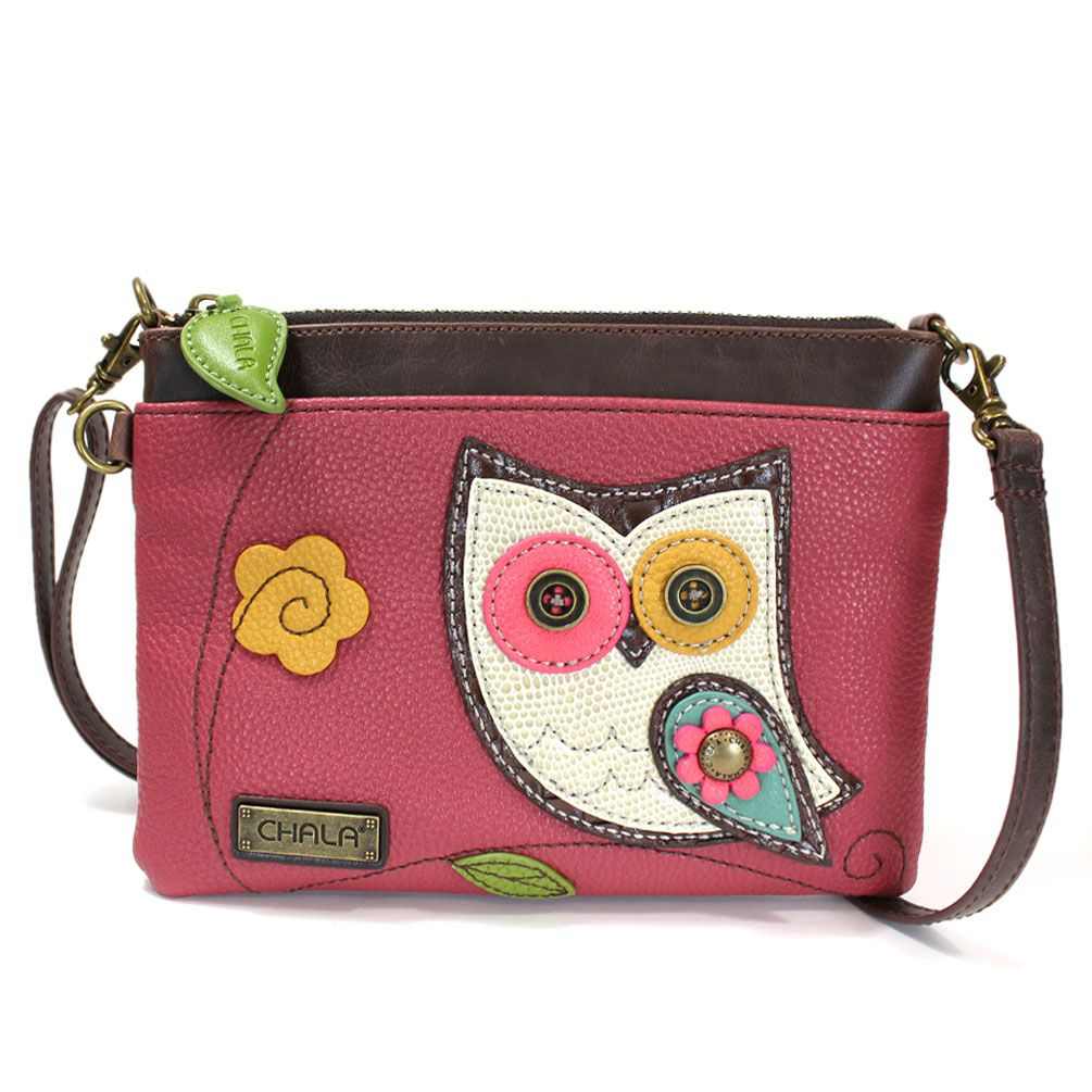 Chala Mini Crossbody - Hoohoo Owl