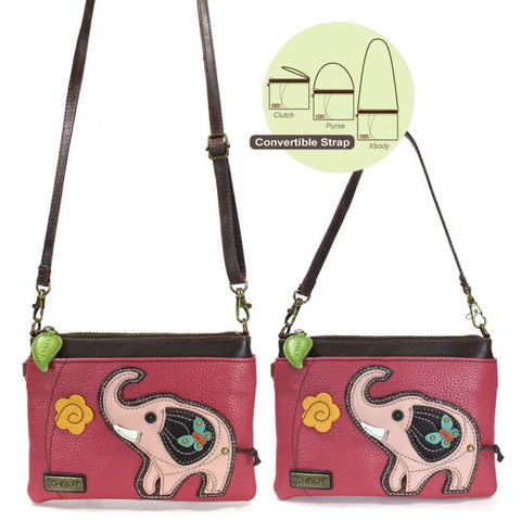 Chala Mini Crossbody - Elephant