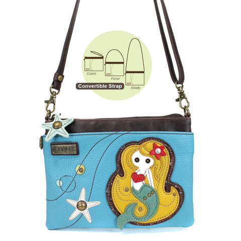 Chala Mini Crossbody - Mermaid