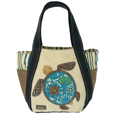 Chala Carryall Zip Tote Bag - Sea Turtle