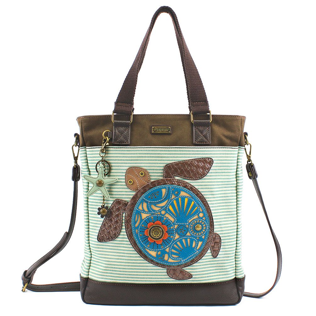 Chala Work Tote - Sea Turtle